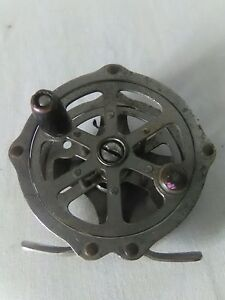 Antique Early Sunnybrook Skeleton Fly Reel