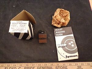 RARE LYMAN SINGLE CAVITY CAST BULLET MOLD 512138 WINCHESTER 50-95 50-140 EXPRESS