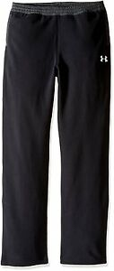Under Armour Boys ColdGear Infrared Fleece Pants BlackGraphite Youth X-Large