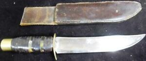 BOWIE KNIFE WW1 WW2 CAPTAIN USN NAVY DIRK STAINLESS STEEL CUSTOM MADE ANTIQUE US