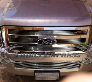 2007-2014 Ford Expedition Boltover Billet Grille-Upper