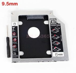 SATA 2nd HDD SSD Hard Drive Caddy Adapter for acer E5 771 54BY Swap UJ8HC DVD