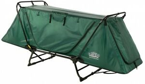 Kamp-Rite 4 in 1 Tent Cot Camping Outdoor Sleep Gear Lounge Chair Carry Bag