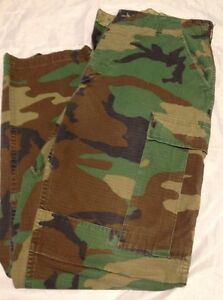 Authentic Military Camouflage Pants