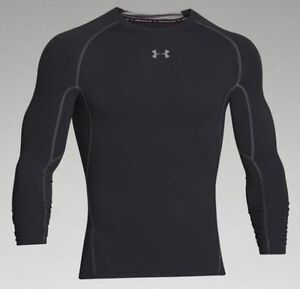 Under Armour Men's HeatGear Long Sleeve Compression Shirt 1257471 NWT