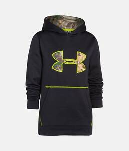 UNDER ARMOUR STORM CALIBER BOYS HOODIE SWEATSHIRT SZ YOUTH MEDIUM