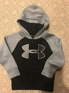 Under Armour Toddler Boys Pullover Hoodie Sz 4 NEW
