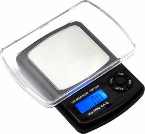 US Magnum 1000g 0.1g Precision Pocket LCD Digital Scale Weigh gozgndwtctozt $15.45