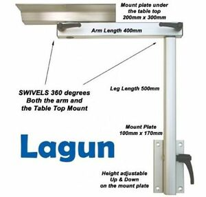 Lagun RV 2 Section Swivel amp; Height Adjustable Table Pedestal Leg INC. DELIVERY