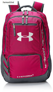 Backpack Under Armour Storm Hustle II Back Pack Tropic Pink One Size Back to...