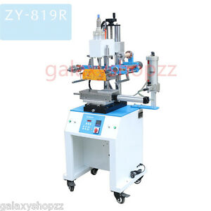ZY-819R Pneumatic Round  and Flat Surface Double Usage hot stamping machine 220V