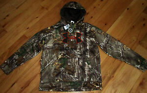 Under Armour Storm camo camouflage hoodie NWT boys' L YLG large $60