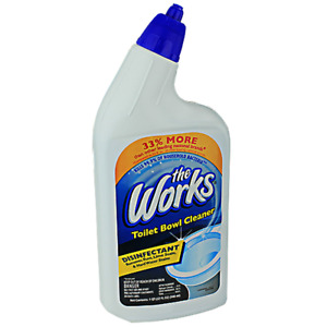HOME CARE LAB THE WORKS 32-OUNCE TOILET BOWL CLEANER 33310WK