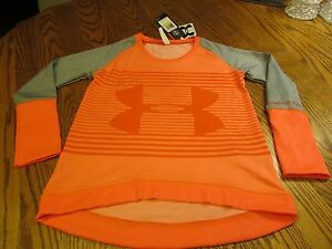 UNDER ARMOUR GIRLS LOOSE FIT TOP SIZE YM NWT $39.99