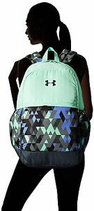 Backpack Under Armour Girls Stealth Gray Crystal Water resistant comfort UA