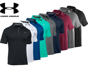 Mens Under Armour Polo Shirt Team Armour Performance Polo Loose Fit 1287622 NEW