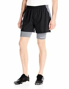 Under Armour Men's Launch Run Racer 2-in-1 Shorts - Choose SZColor