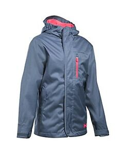 Under Armour Girls' ColdGear Infrared Gemma 3-in-1 Jacket - Choose SZColor