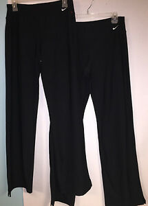 2 PAIR Nike Women's Fit Dry Athletic Pants M Tall MT 32.5