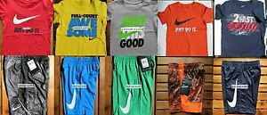 NIKE BOYS SIZE 3T ~ SHORTS ~ T-SHIRTS ~ DRI-FIT ~ NWT ~ $218 ~ 10 PIECES