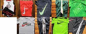 NIKE BOYS SIZE 2T ~ SHORTS ~ T-SHIRTS ~ DRI-FIT ~ NWT ~ $207 ~ 10 PIECES
