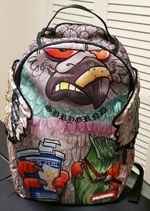 Sprayground Backpack Pigeon NYC New Limited Rare Collectors Item Nike