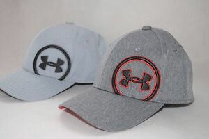 New Under Armour UA Big Logo Youth Boys' Golf Cap #1262200 Baseball Hat SM