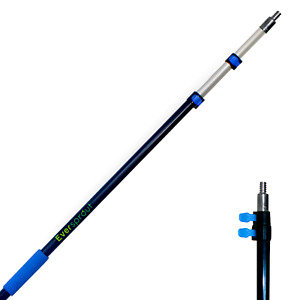 EVERSPROUT 4.5-to-12 Foot Telescopic Lightweight Extension Pole (18-20 Ft Reach)