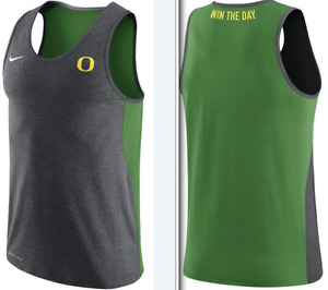 Nike Dri Fit Oregon Ducks Elite Speed Win The Day Team Training Tank Top shirt