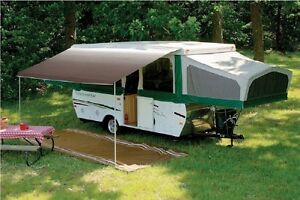 Pop Up Camping Trailer A&E Trimline Bag Awning 7ft Sandstone