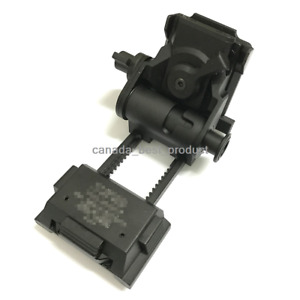 Airsoft Tactical Metal L4 G24 NVG Mount CNC for Fast OPS PJ MH BJ Mich Helmet BK