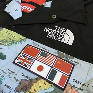 Supreme SS '14 Maps North Face Expedition Jacket XL NEW 100% Authentic RARE