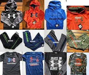 BOYS 4T NIKE ~UNDER ARMOUR CAMOUFLAGE ~ TRACK PANTS SHIRT HOODIE $100