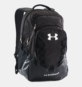 Under Armour Storm Recruit Backpack Black NWT