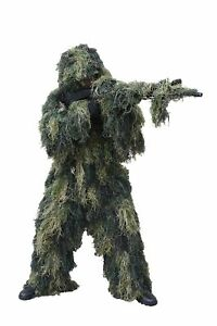 Red Rock Outdoor Gear Men's Ghillie Suit Woodland Camouflage X-LargeXX-Large