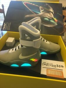 2011 Back To The Future Nike Air Mag Size 7 #0691 NEW IN BOX With Certificate