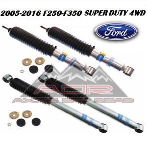 Bilstein FrontRear 5100 Series Shocks for 2005-2016 Ford F-250 F-350 Super Duty
