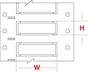 Write On White  Wire Marker Sleeves PermaSleeve(R) Polyolefin