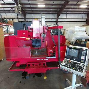 MC-500V2 with a 4th axis and Fanuc 11M Control