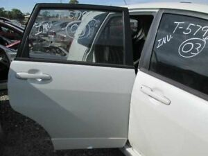 PASSENGER RIGHT REAR DOOR STATION WAGON HAS DINGS WMOLDING FITS 03 AERIO 258204