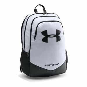 Under Armour Boys' Storm Scrimmage Backpack Mako WhiteBlack One Size