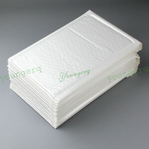 100/50 Poly Mailer Bubble Mailers Padded Envelopes 6x9 8.5x11 9x12 5x7 3x5 4x6