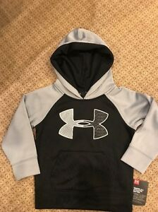 Under Armour Toddler  Boy Pullover Hoodie Sz 5 NWT