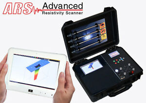 DRS - Advanced Resistivity Scanner - ARS - MetalWater and Cavity Detection
