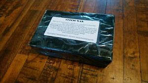 Premium Cheese Wax 1 LB block Sealed Retail BLACK Free Priority Mail in US