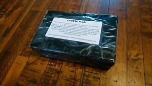 Premium Cheese Wax 1 LB block Sealed Retail ~ BLACK ~ Free Priority Mail in US!