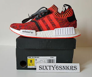Adidas NMD R1 PK NYC Red Apple 56200 8US 75UK 41 13EU+Exclusive Backpack  NYC