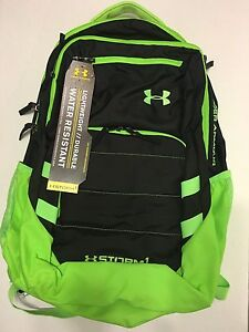 UNDER ARMOUR STORM HEAT GEAR BACK PACK GYM BAG HUNTING GEAR GREENBLACK