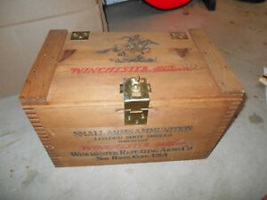 Winchester Western Small Arms  Ammo Box Super X Staynless 12-3 500 USA  Nice !
