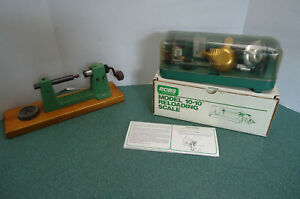 RCBS 10-10 Reloading Scale (As Found) w Box & Papers Plus Redding Case Trimmer